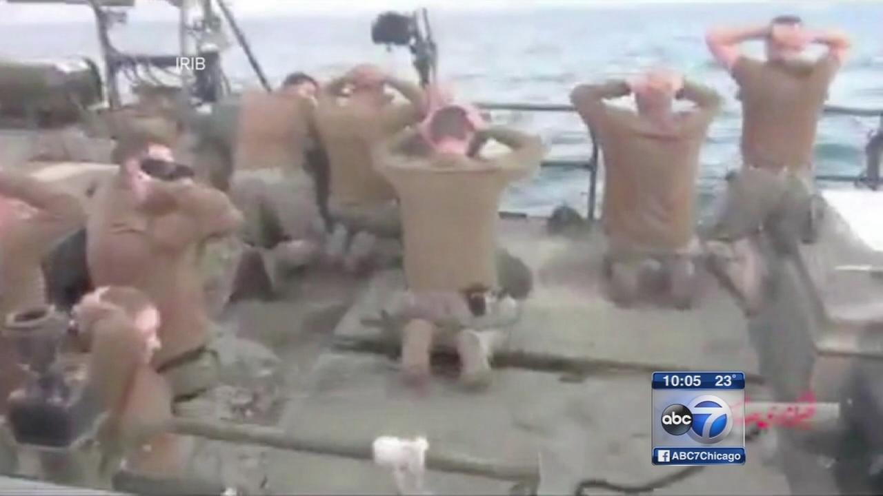 Sailor who apologized to Iran is Chicagoan