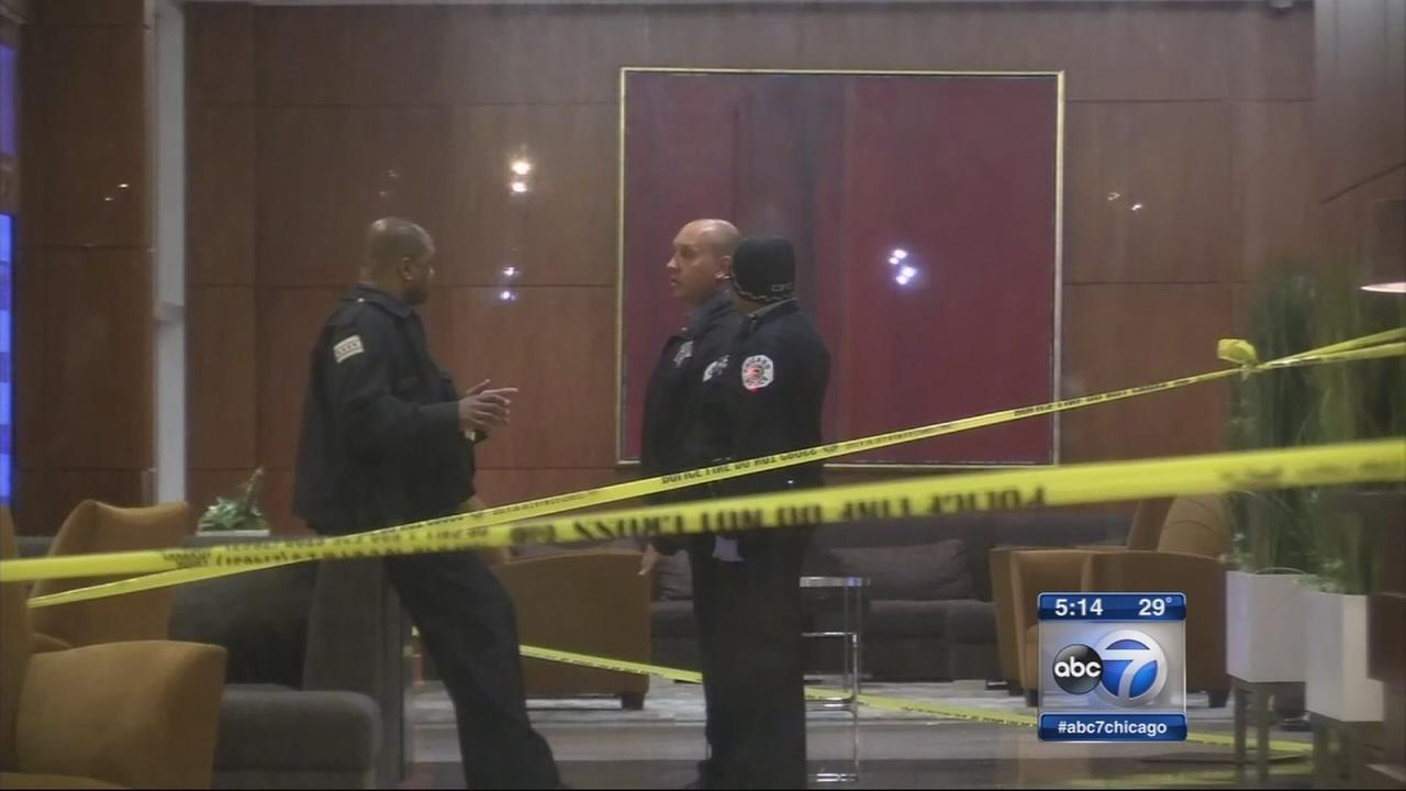 Man shot in Hyatt hotel lobby