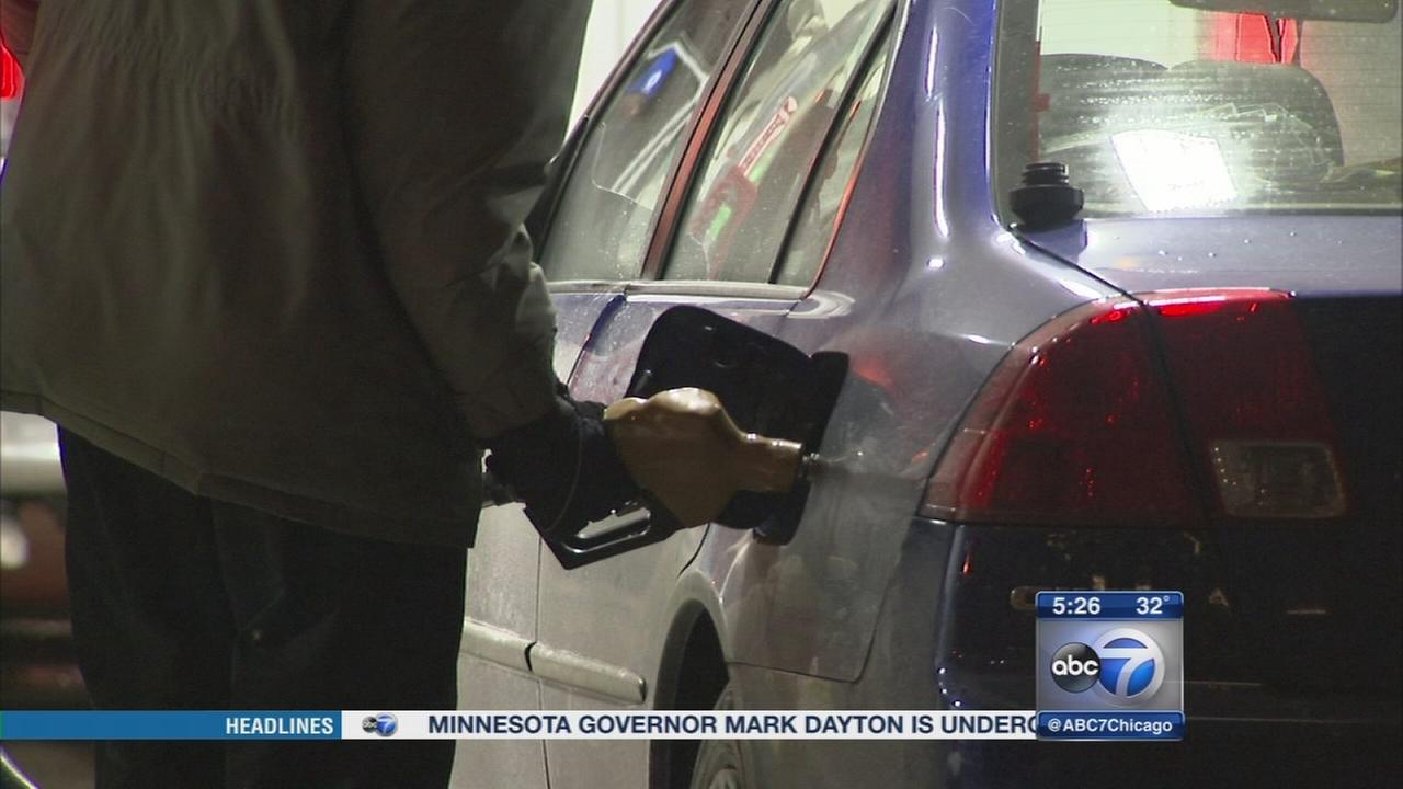 Gas prices at lowest level since 2009