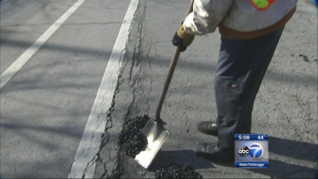 City ahead on pothole repairs