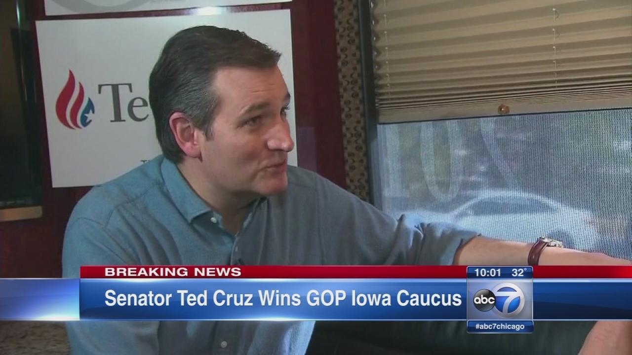 Cruz wins GOP caucuses, Democrats in tight race