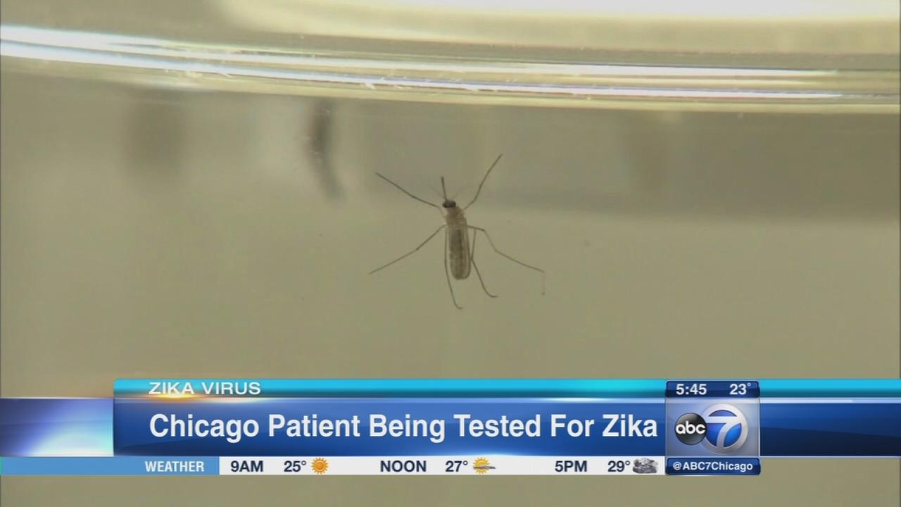 Chicago patient awaits Zika virus test results