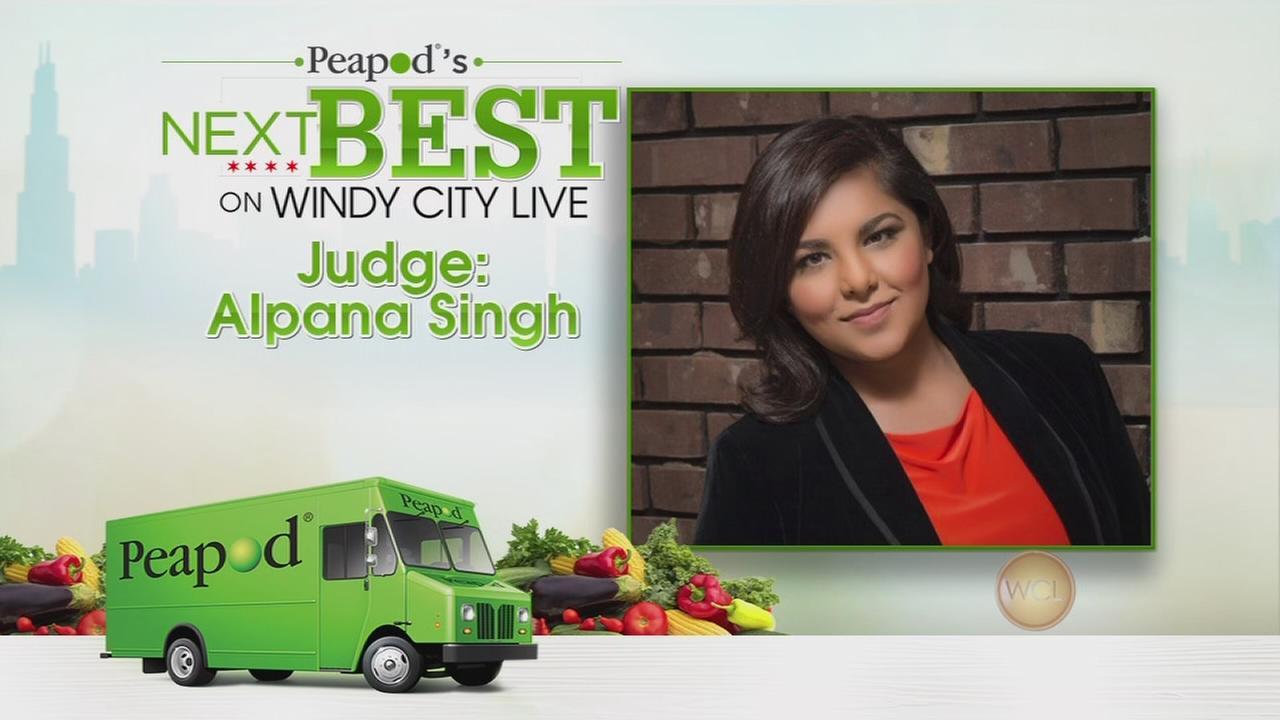 Peapod contest judges