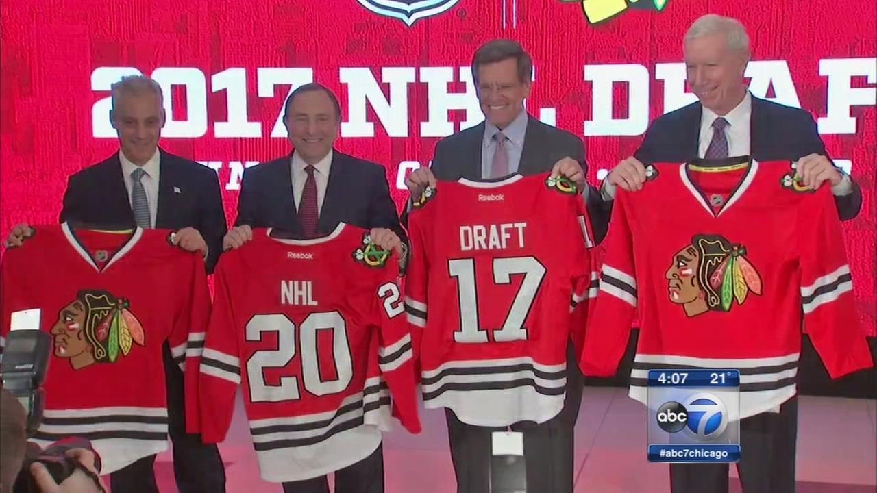 Chicago to host 2017 NHL Draft