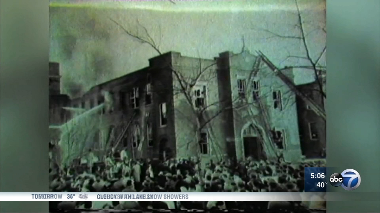 Its been 60 years since 92 students and three nuns were killed in a fire at the Our Lady of the Angels school on Chicagos West Side.