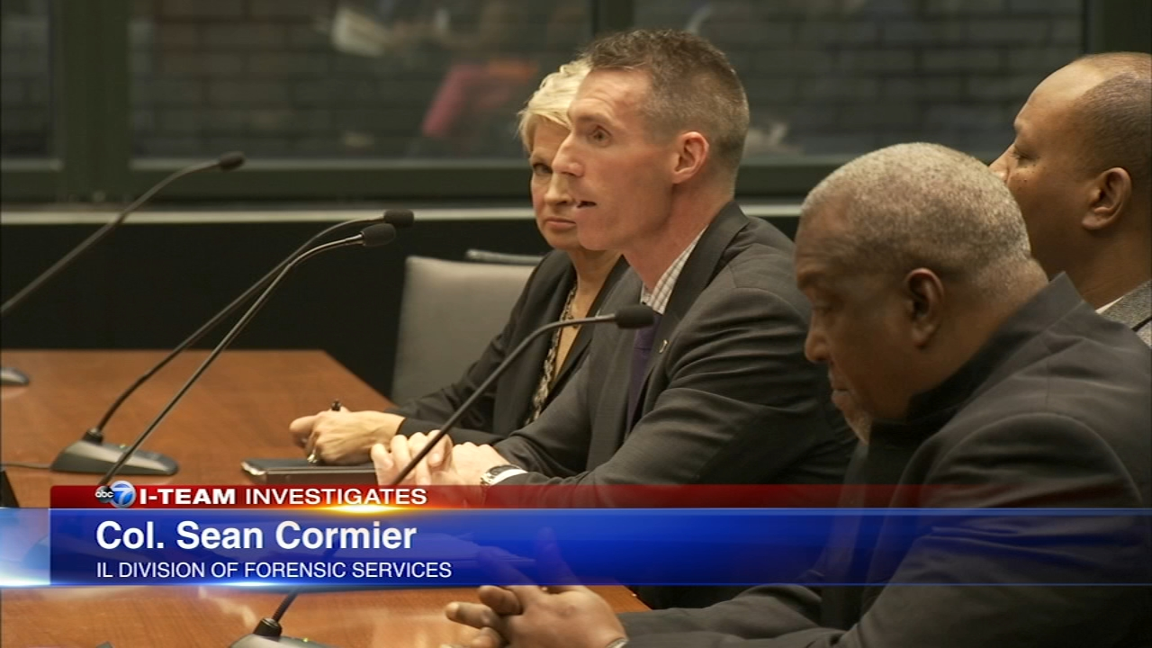 Col. Sean Cormier, of the Illinois Division of Forensic Services, testified about the backlog of DNA evidence.