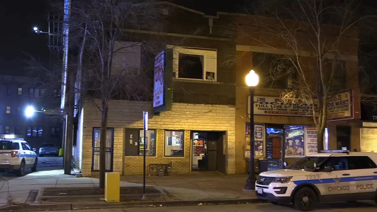 A man was injured after jumping from his second floor apartment to escape from three home invaders in the Austin neighborhood Monday night, Chicago police said.