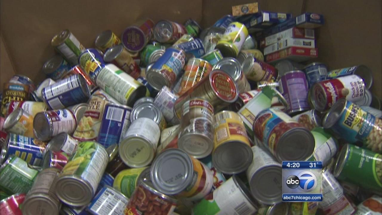 Patrons donate goods for A Safe Haven
