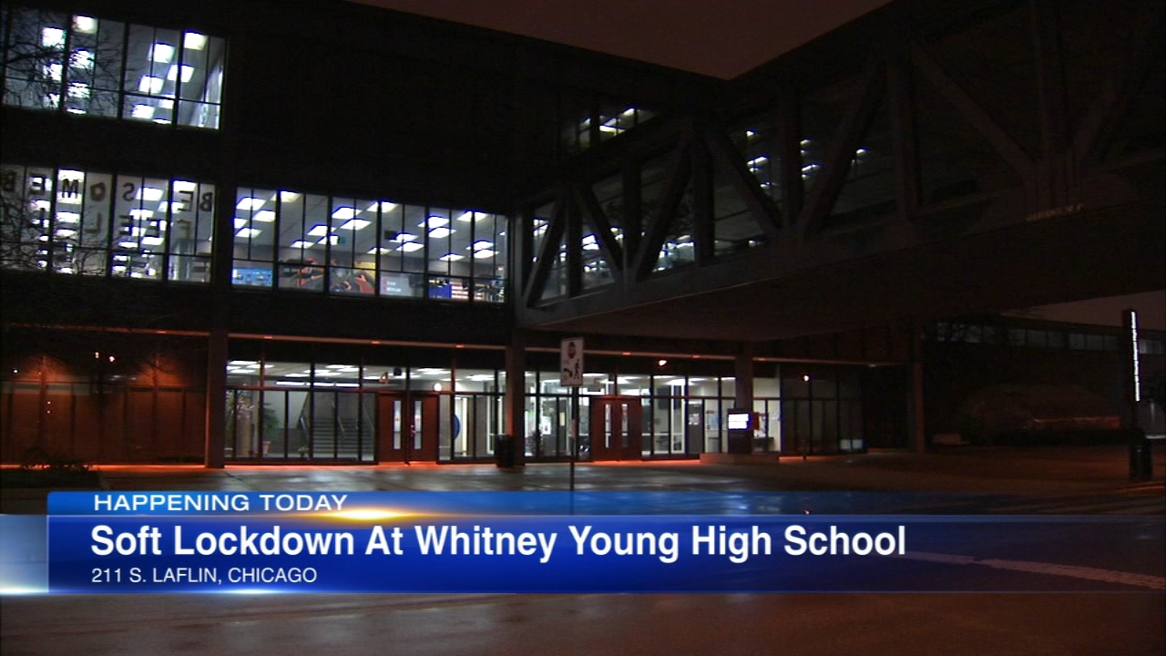 A soft lockdown will be in effect at Whitney Young High School Wednesday after a second threat was found inside the school, according to the Chicago Sun-Times.
