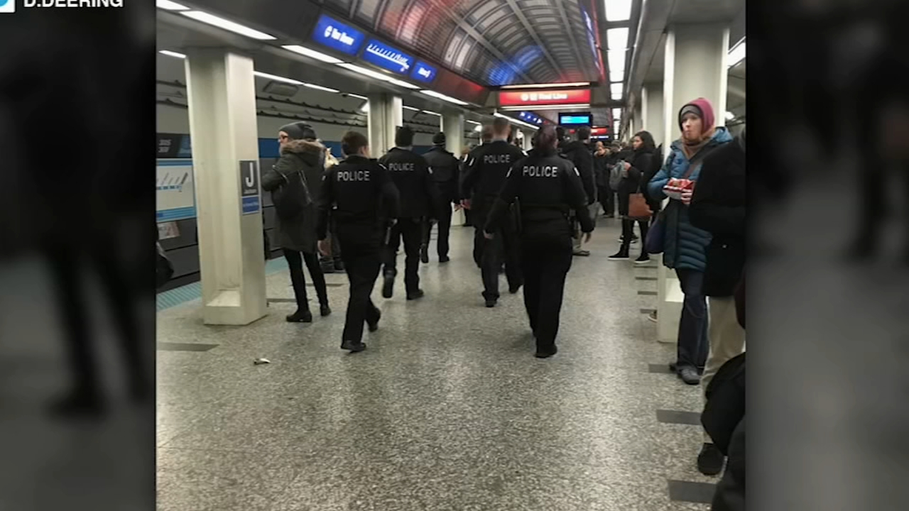 A masked man shot another man in a CTA pedestrian tunnel near Jackson Boulevard amid the evening rush hour Thursday, police said.