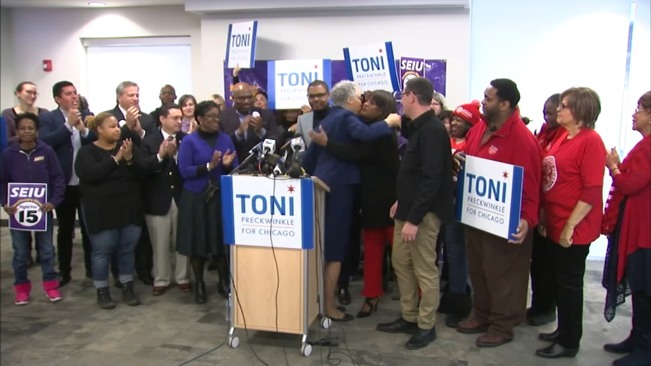 The Chicago mayoral race continues to gear up with the first television ads launching Thursday and another round of union endorsements.
