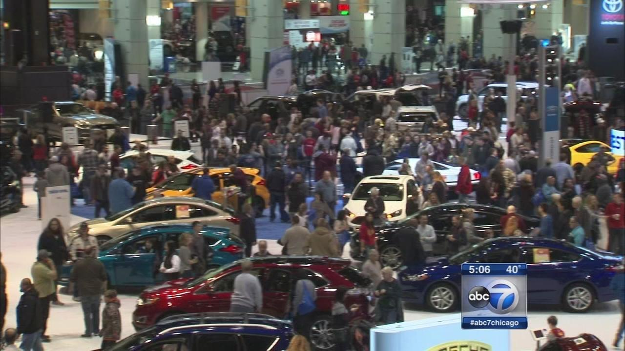 Auto Show kicks off spring car sales