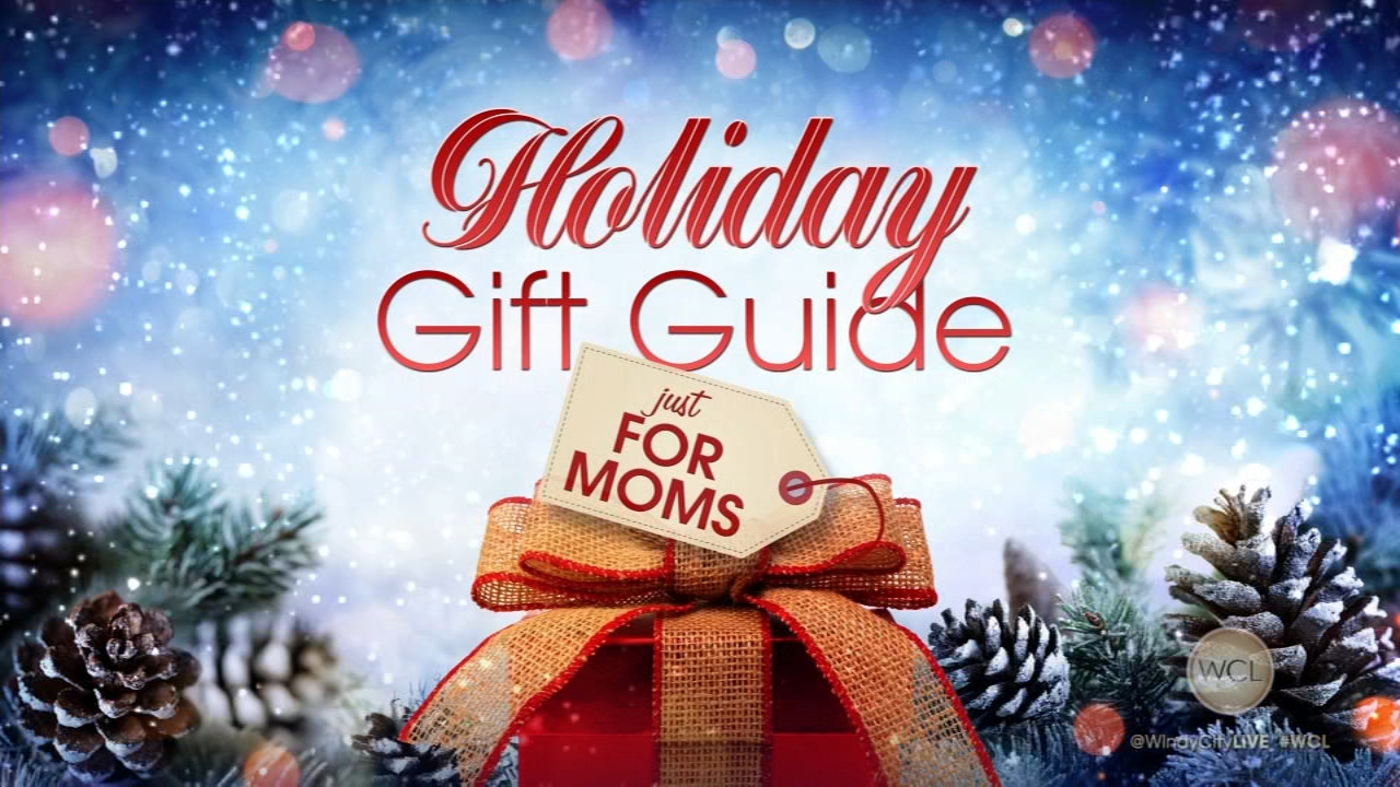 The WCL audience of new moms were surprised with holiday gifts. Part 1