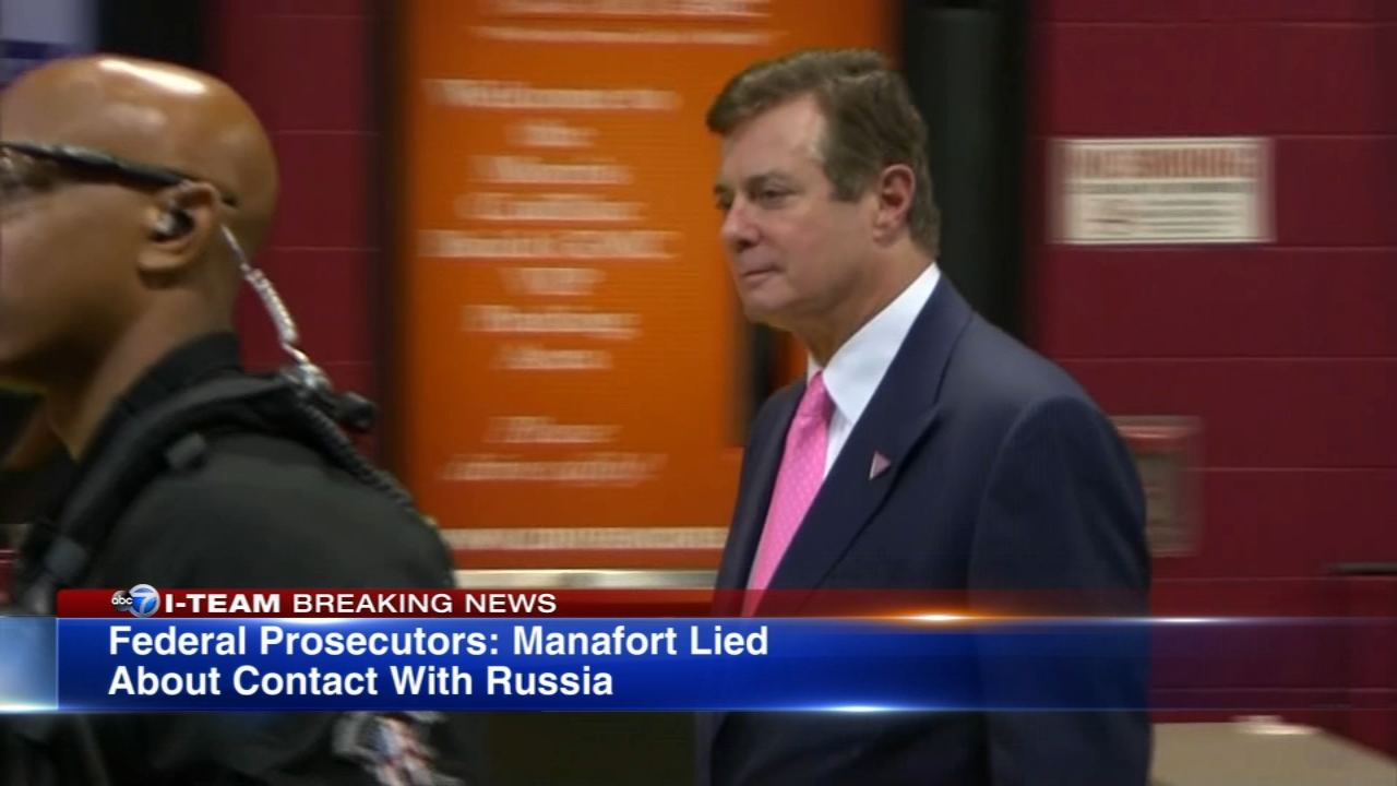 The White House distanced itself from former campaign manager Paul Manafort Friday night after a new court filing charged that he lied to prosecutors.