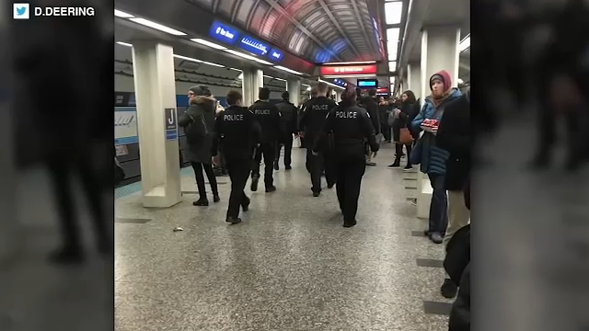 A shooting in a tunnel connecting the Red and Blue lines in the Loop at the height of the evening rush has left come CTA riders shaken.
