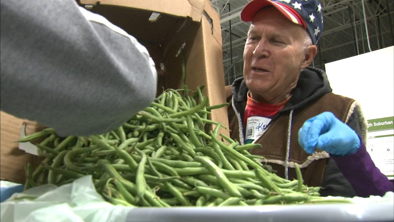 Every week, south suburban community members are busy volunteering at one of four Northern Illinois Food Banks distribution centers, making sure no one goes hungry.