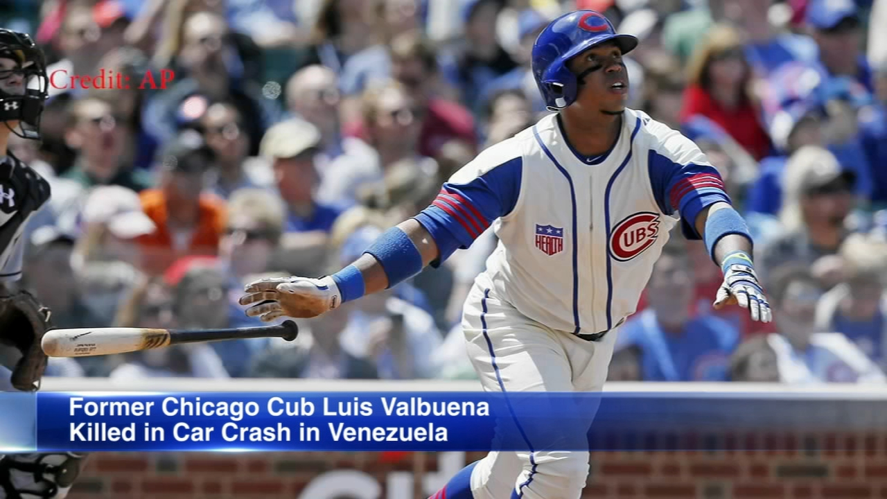 Former major league players Luis Valbuena and Jose Castillo were killed in a car crash in Venezuela caused by highway bandits who then robbed them, officials said Friday.