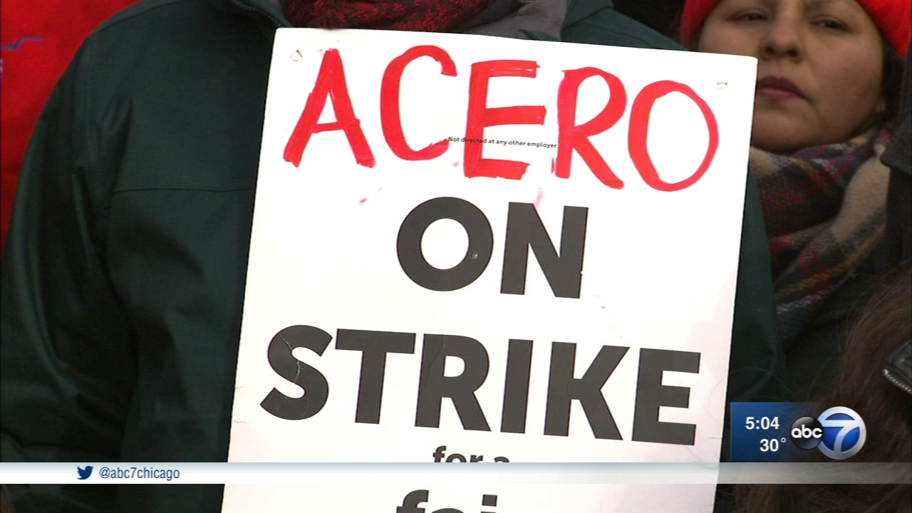 It's been nearly a week since teachers at all 15 Acero charter schools walked off the job.