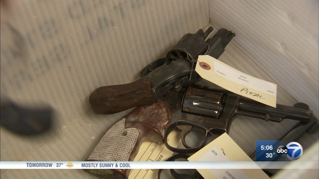 A gun buy-back event was held on Chicagos Southwest Side to help get guns off the streets.