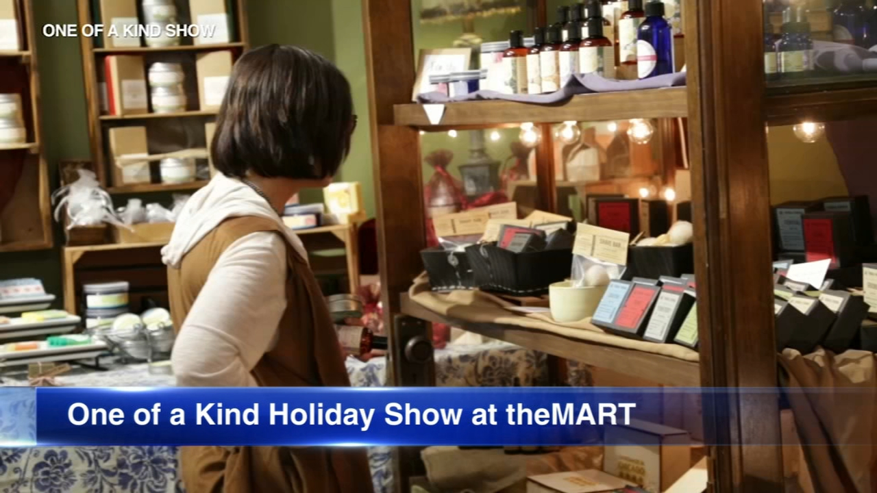 The annual One of a Kind Holiday Show opens this weekend at theMart.