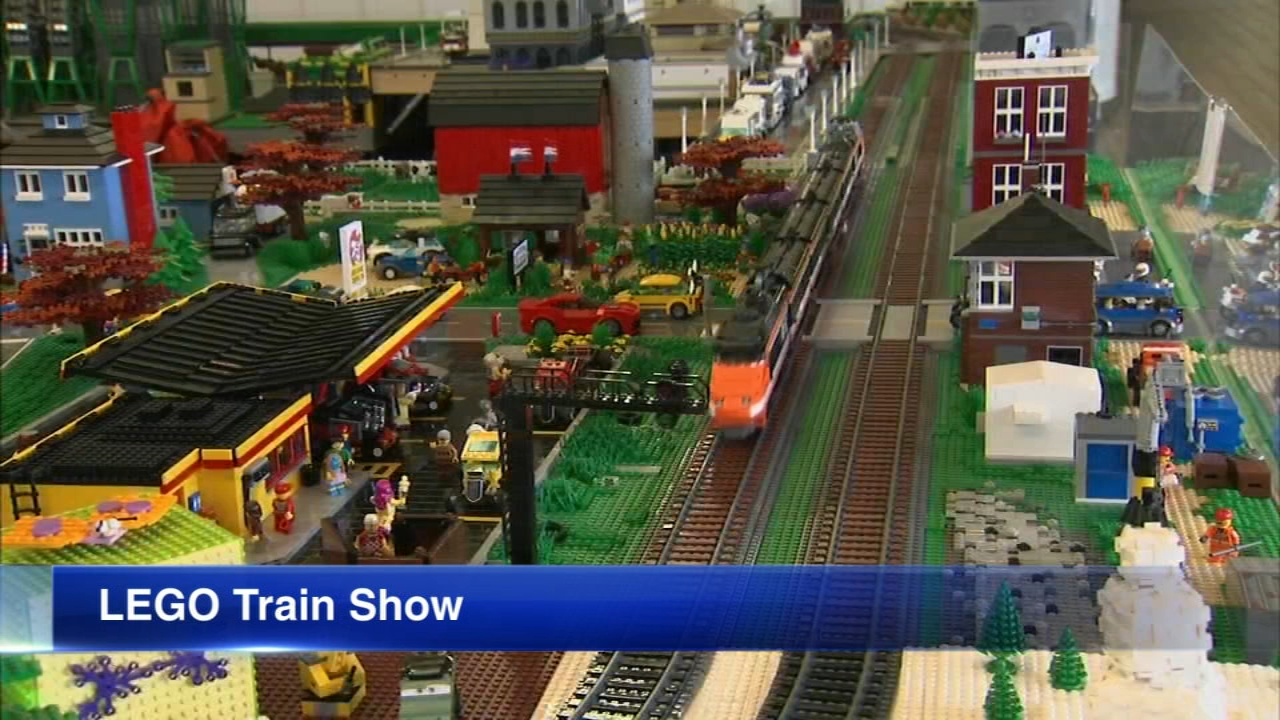 Family members of all ages can enjoy this holiday tradition in Wheaton. Some 3.5 million LEGO bricks have been transformed into elaborate displays for the 16th annual LEGO Train sh