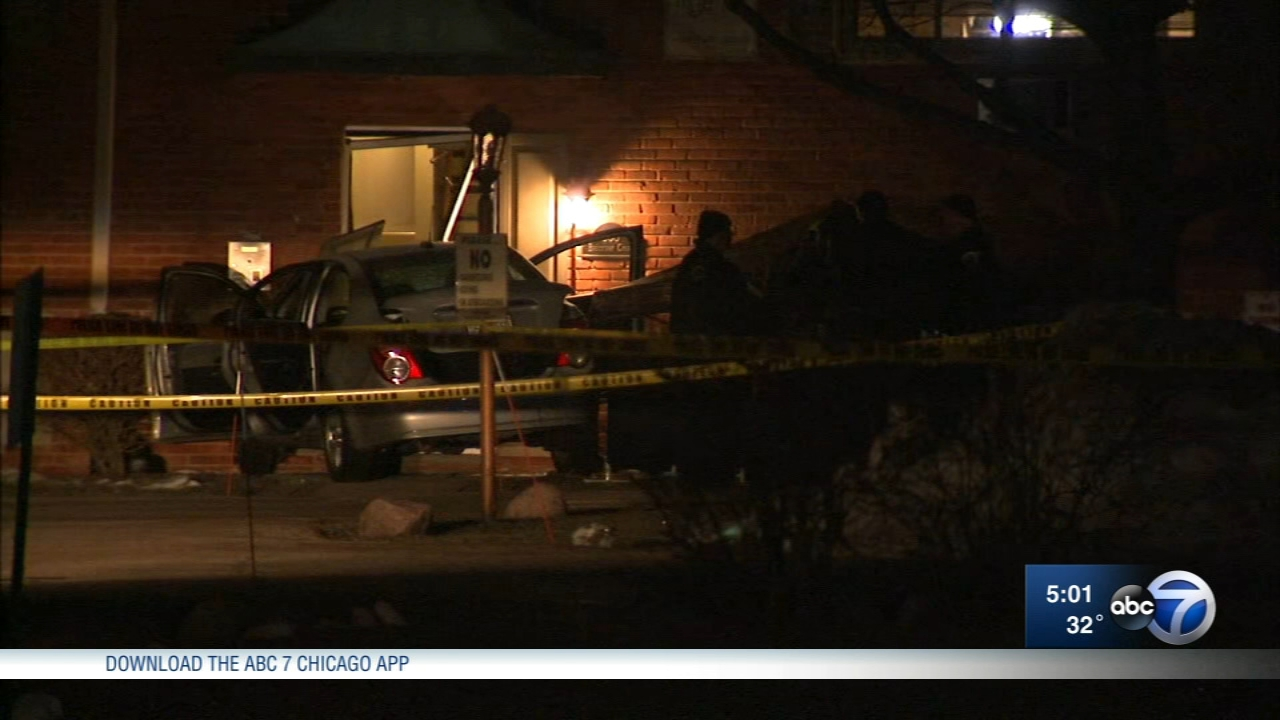 A person was killed in a police-involved shooting in Palatine early Sunday.