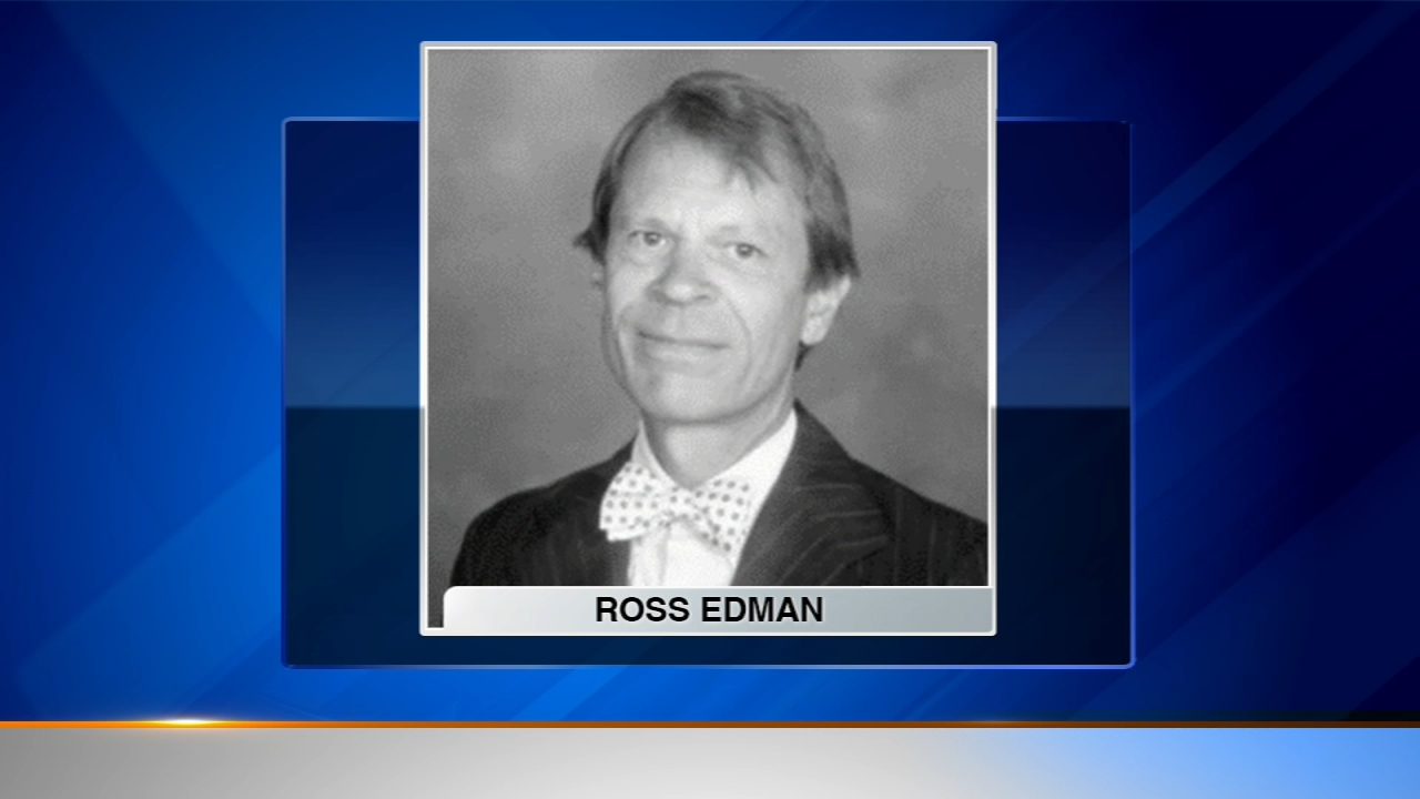 Ross Edman taught at the school for 30 years and later became a noted appraiser of art and antiques before his death in 2017.