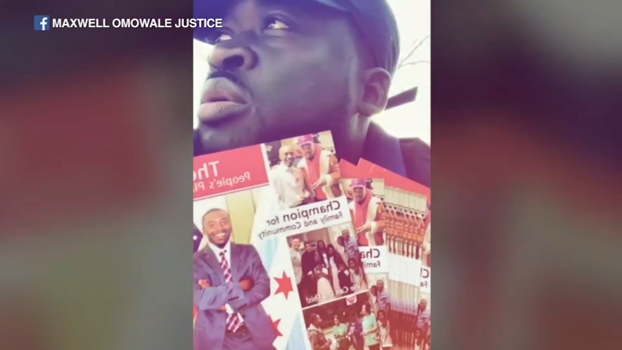 Maxwell Little, also known on social media as Maxwell Omowale Justice, is recovering after being shot in the leg while campaigning for 15th Ward aldermanic candidate Joseph William