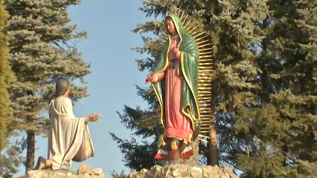 Each year, between 200,000 and 300,000 Catholic pilgrims visit the Our Lady of Guadalupe shrine – one of the country's largest Catholic pilgrimages.