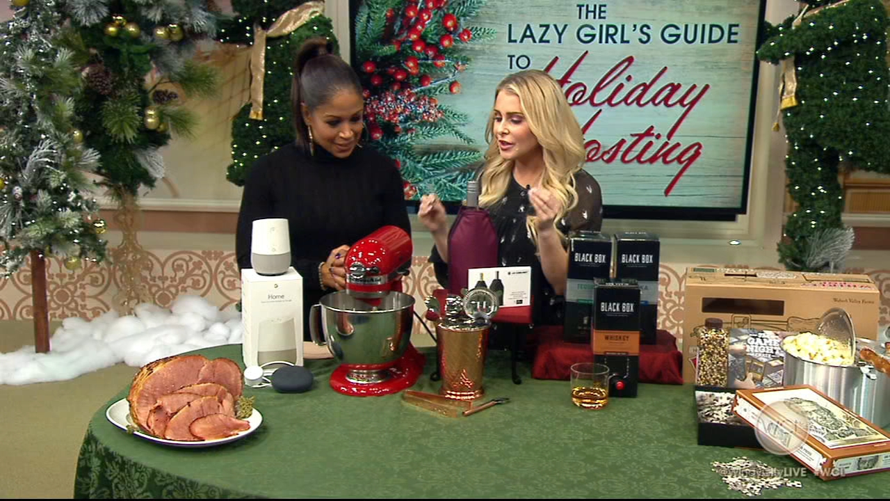 Go-To Girlfriend Sadie Murray shared her Lazy Girls Guide to Holiday Hosting.