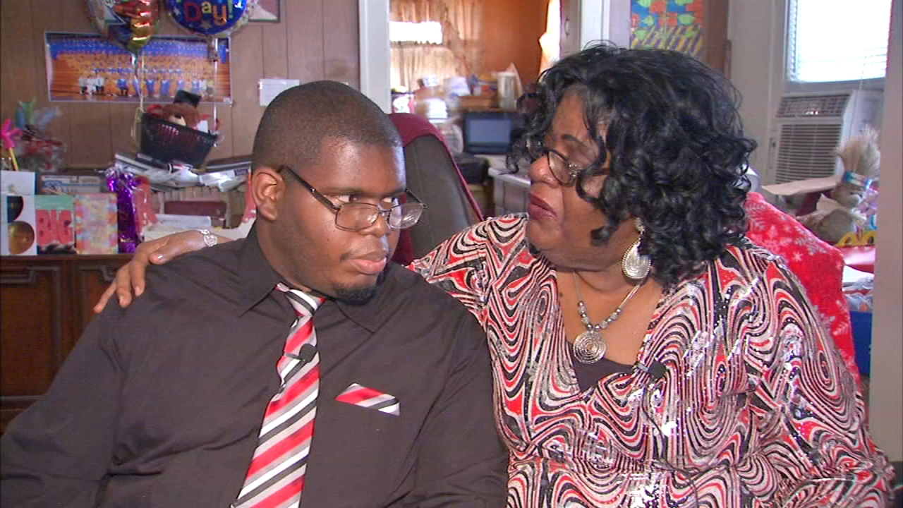 With unwavering support from his mother, Christopher Williams, 24, is defying the odds.