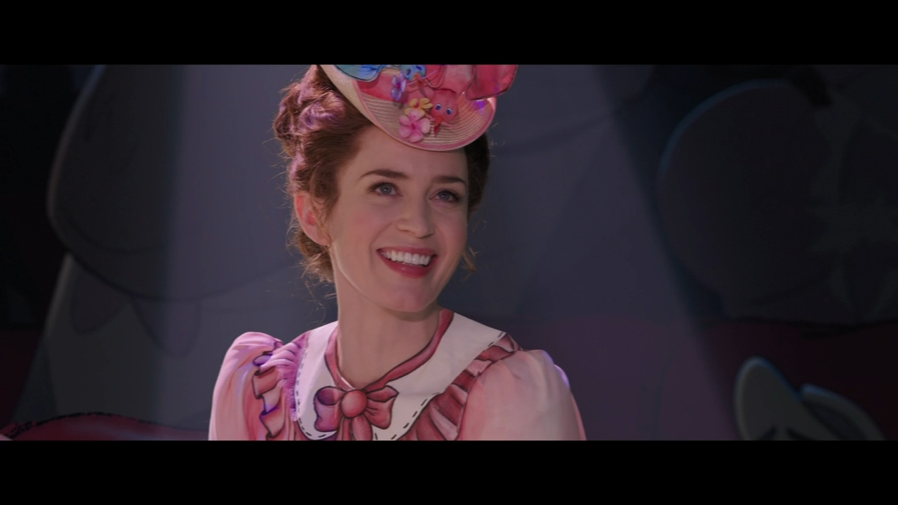 Actress Emily Blunt is Mary Poppins, who will charm audiences - without - a spoonful of sugar.