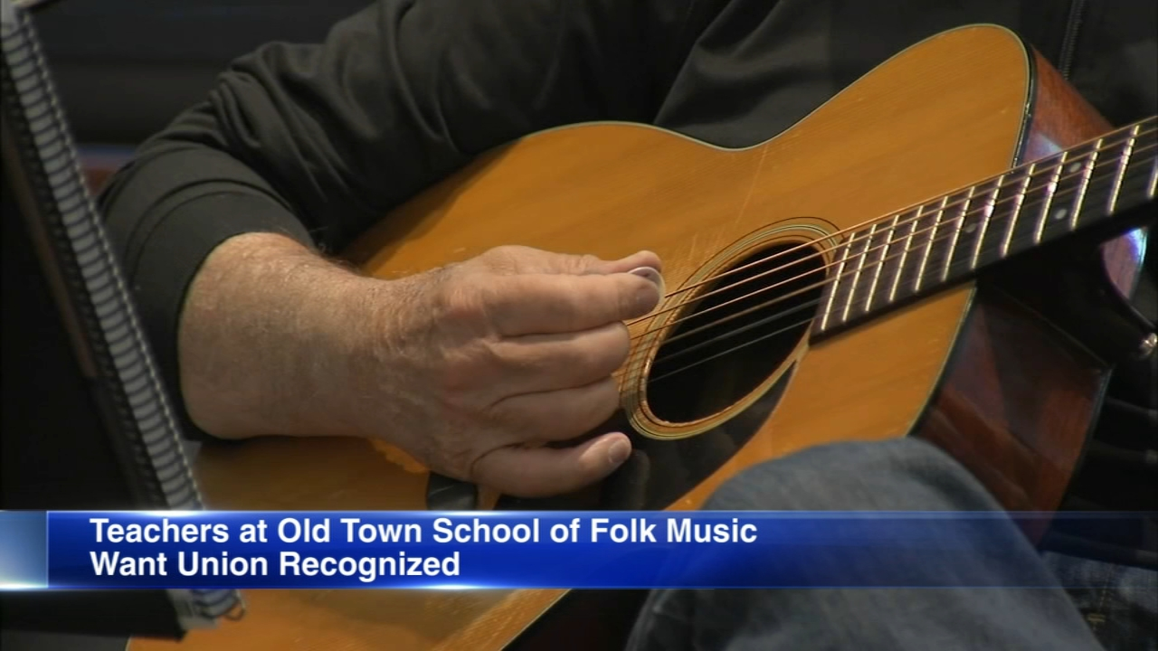 Faculty at Chicagos Old Town School of Folk Music have formed the Old Town Teachers Organization (OTTO) and have filed to form a union.