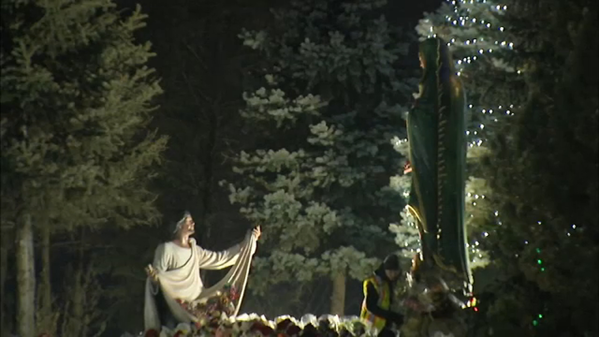 The centuries-long Catholic feast day that celebrates the Virgin Mary has begun in north suburban Des Plaines