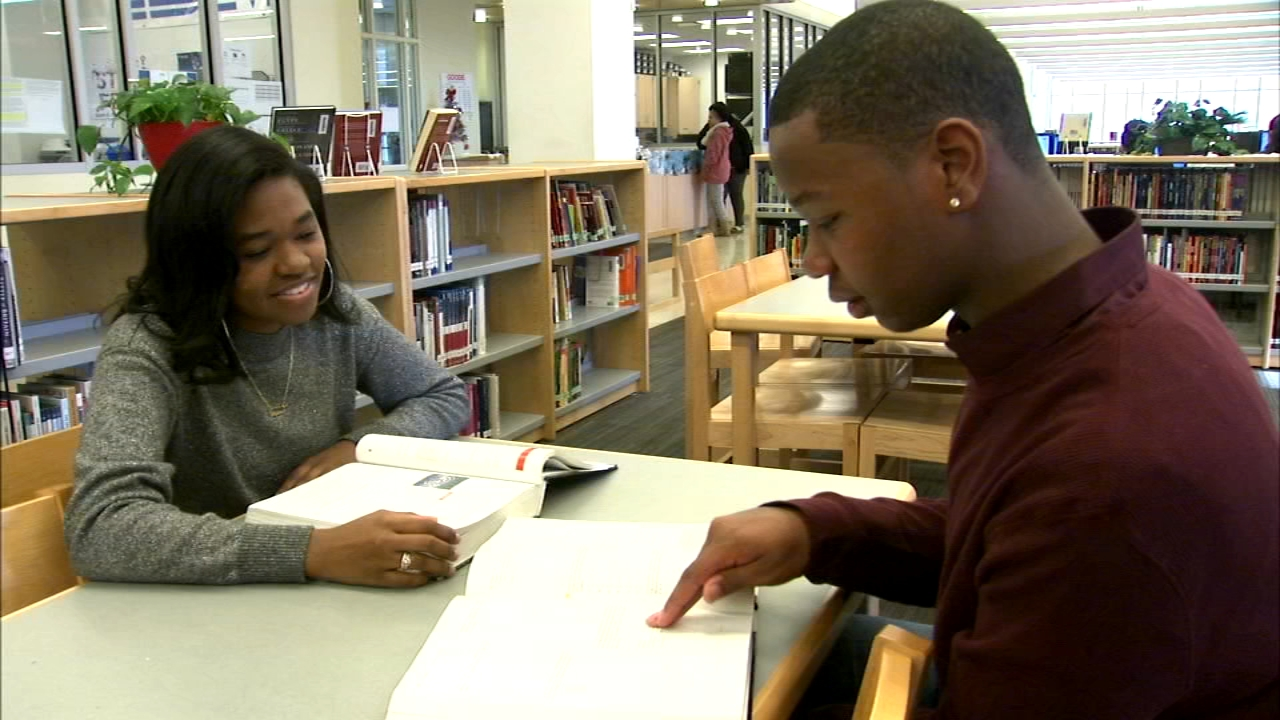Devin Thomas and Cheyenne Henry are in the home stretch of their time at Sarah E. Goode Stem Academy.