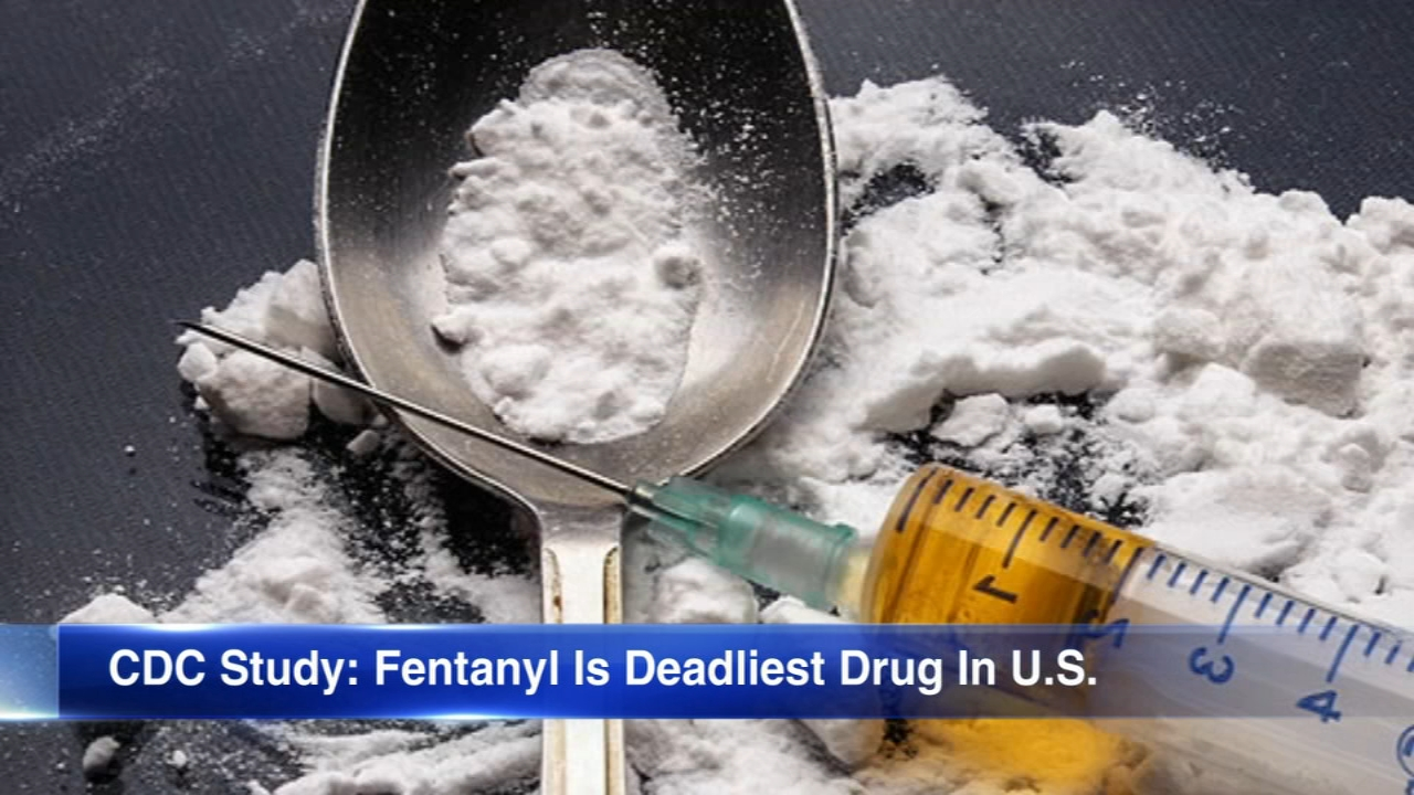 Fentanyl is now the most commonly used drug involved in drug overdoses, according to a new government report.