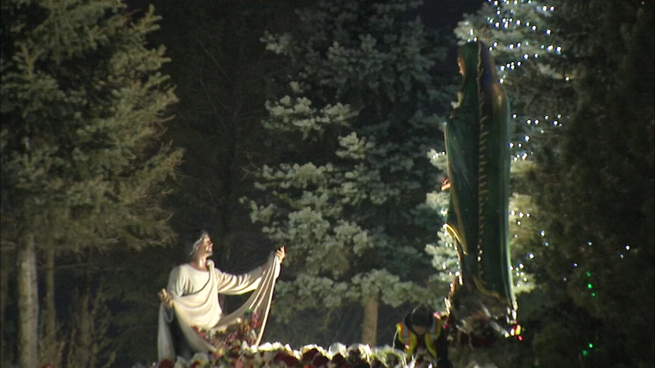 Thousands of Catholics have gathered in Des Plaines to celebrate Our Lady of Guadalupe Wednesday.