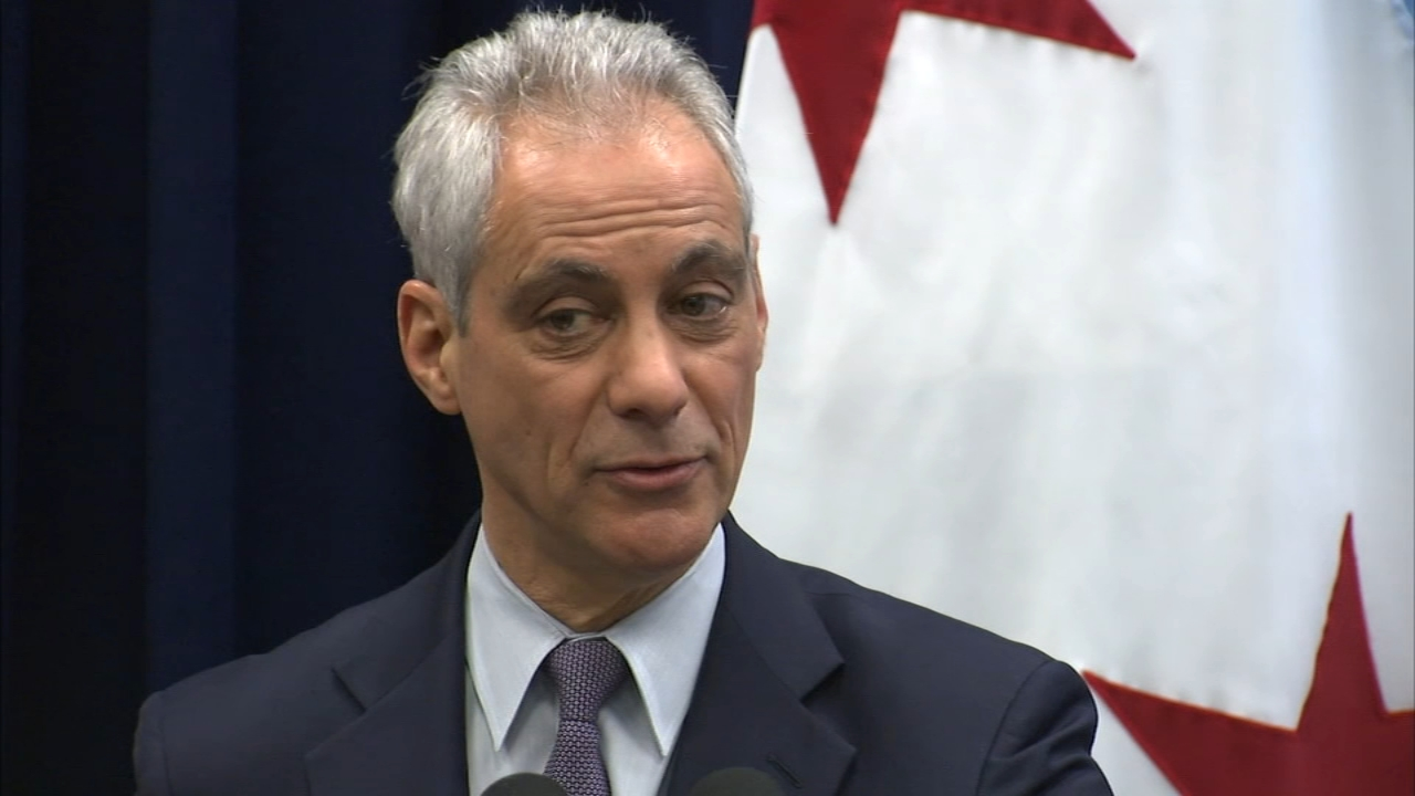 Mayor Rahm Emanuel unveiled his plan to ease the citys mounting pension problems Wednesday morning.