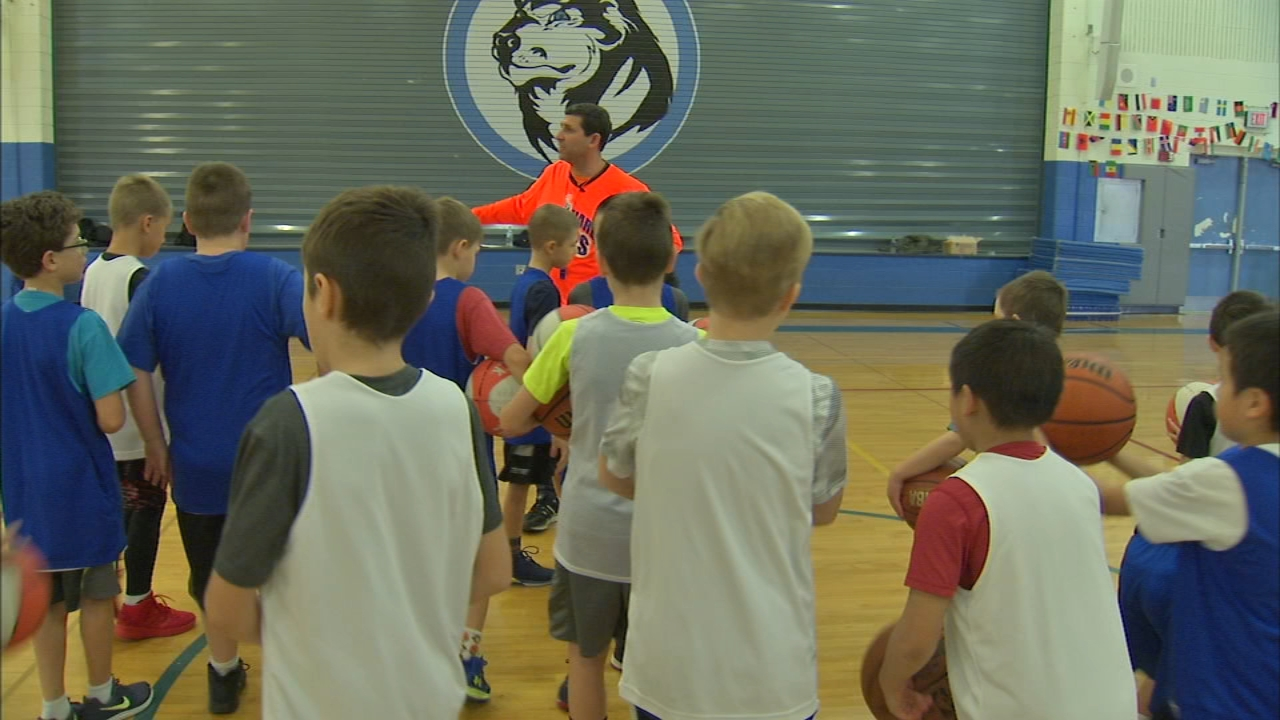 Dave Adelman, a former assistant basketball coach at Loyola University, has spent the last decade teaching kids in Chicago to play the game with a focus on fundamentals and fun.