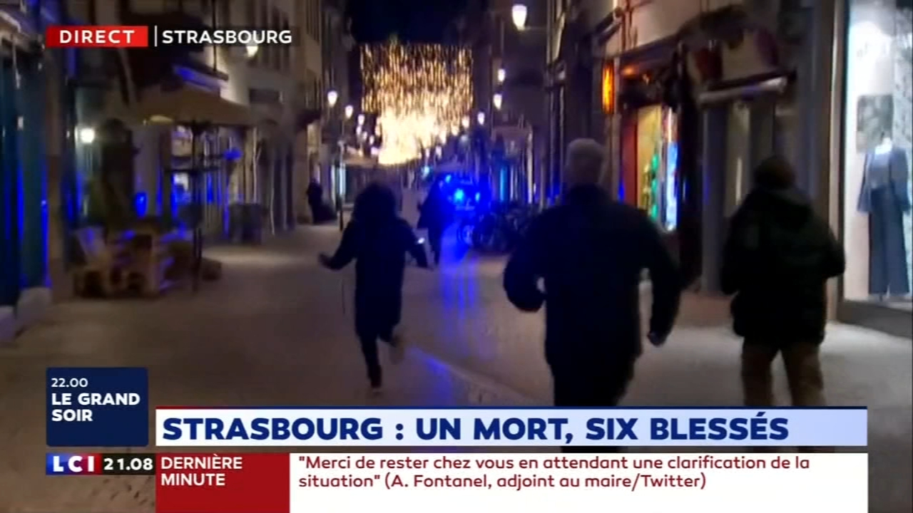 A manhunt continues Wednesday for the suspect in a shooting at a Strasbourg, France Christmas market. The suspect has been identified as Cherif Chekatt