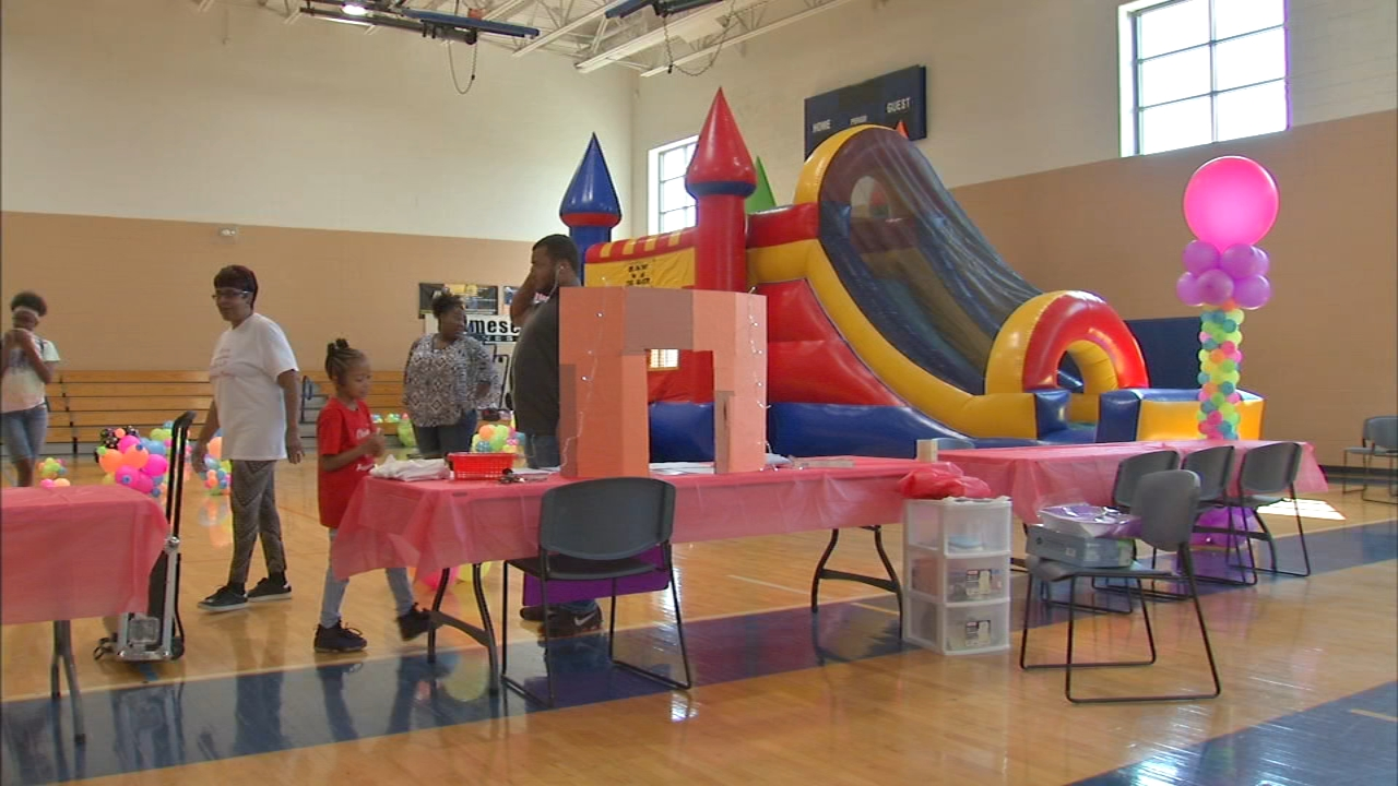 A special birthday party was held for children living with sickle cell disease.