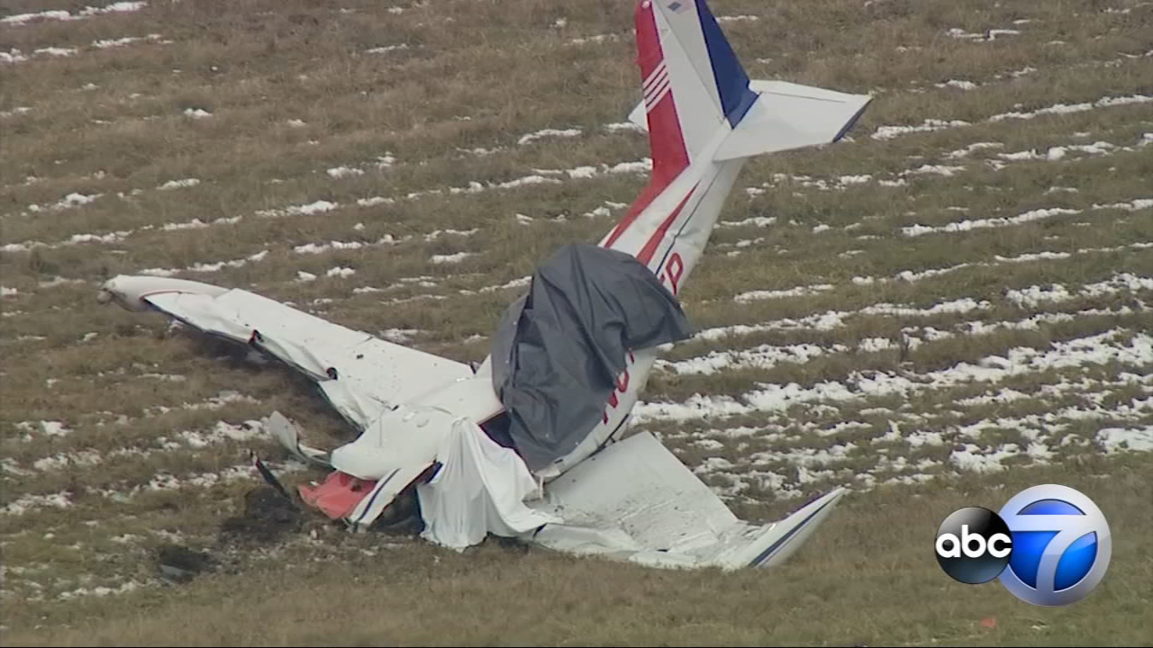 A plane crashed Thursday morning at Porter County Regional Airport in Valparaiso, Indiana.