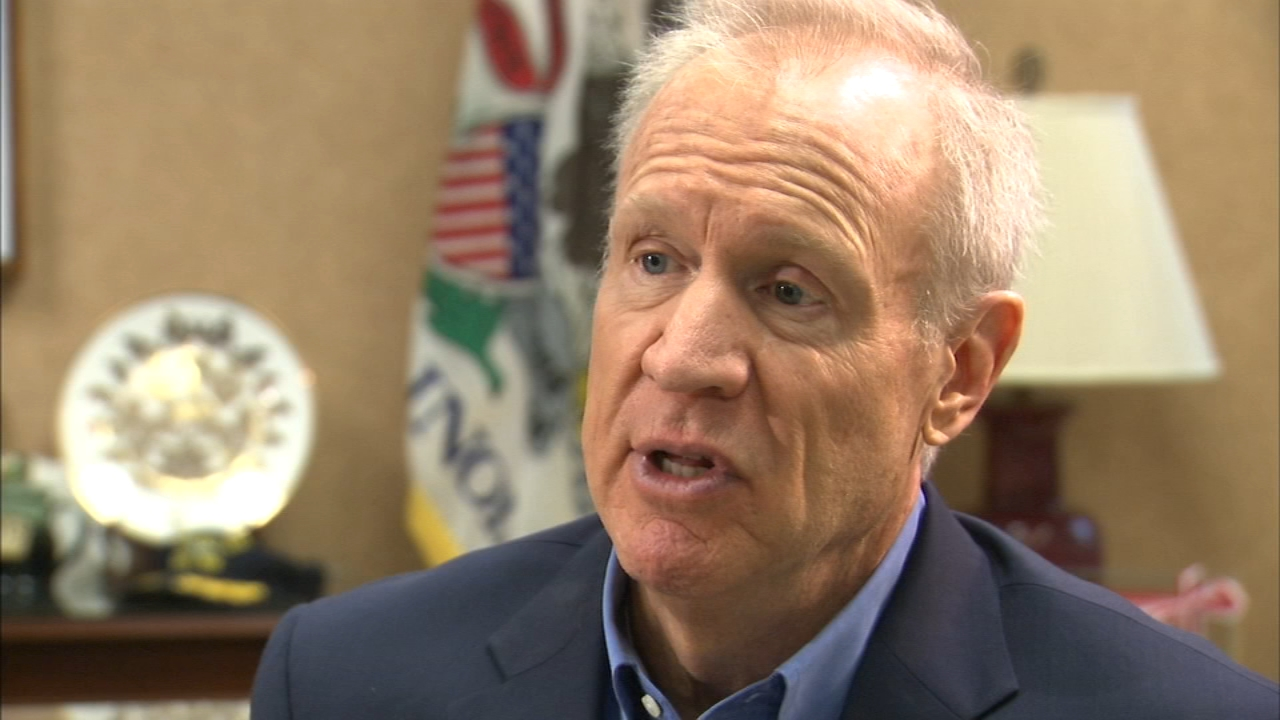 Bruce Rauner spoke exclusively with ABC7 Eyewitness News Political Reporter Craig Wall about how he considered not running for reelection and even tried to recruit another candidat