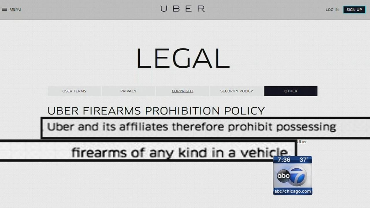 Chicago Uber driver accused of carrying a gun