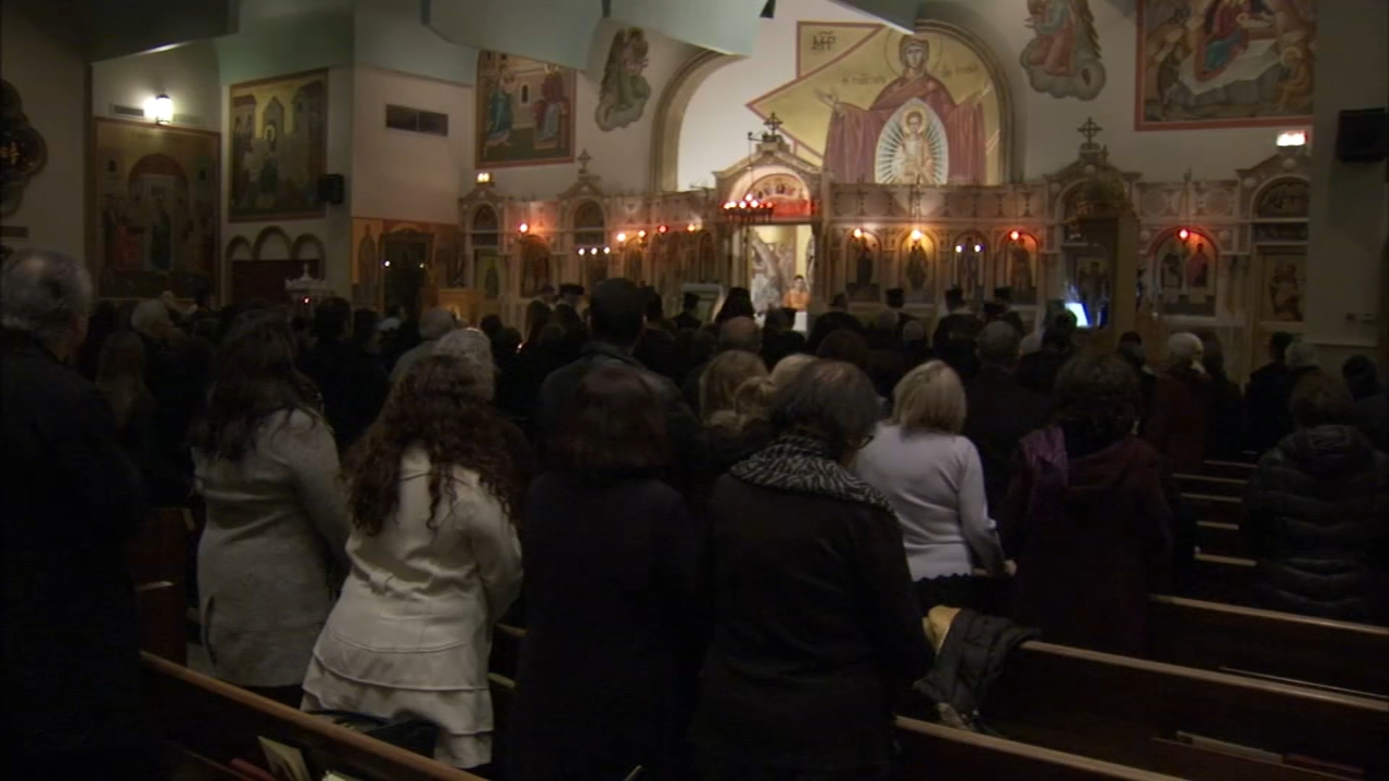 Holy Trinity Greek Orthodox Church was set to be closed Thursday, but a seven-figure donation allowed them to cancel the auction.