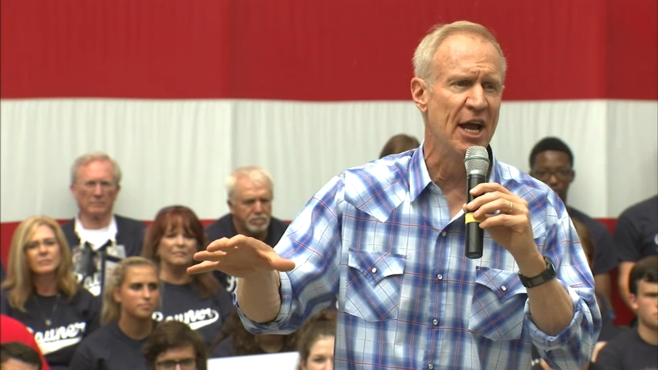 Gov. Bruce Rauner caused a firestorm within the Republican Party by admitting Thursday in an exclusive ABC7 interview that he had recruited four people to take his place on the bal