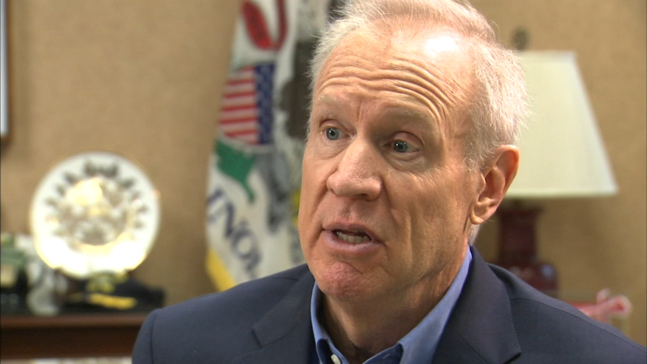 In an ABC7 interview, Gov. Bruce Rauner admitted to recruting four other people to replace him in the race for governor in the November election.
