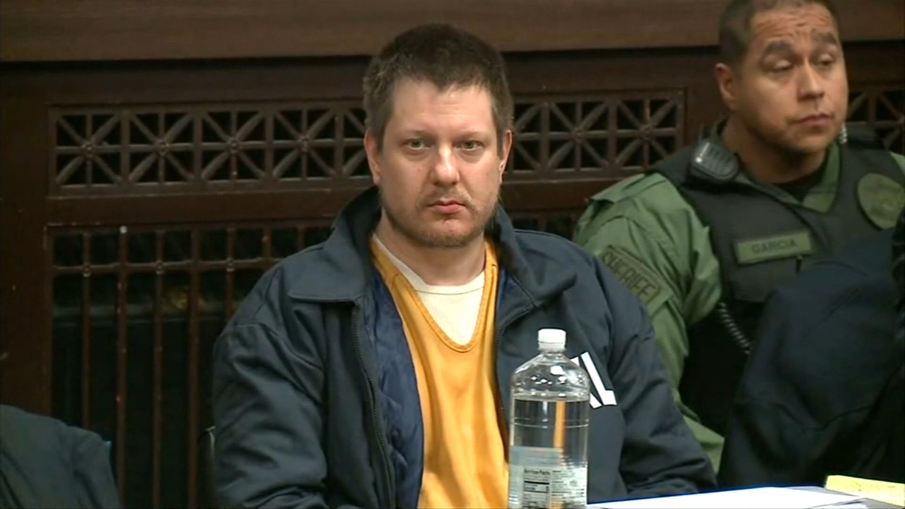 Ex-Chicago cop Jason Van Dyke appeared in Leighton Criminal Courthouse on Friday for a post-trial motions hearing.