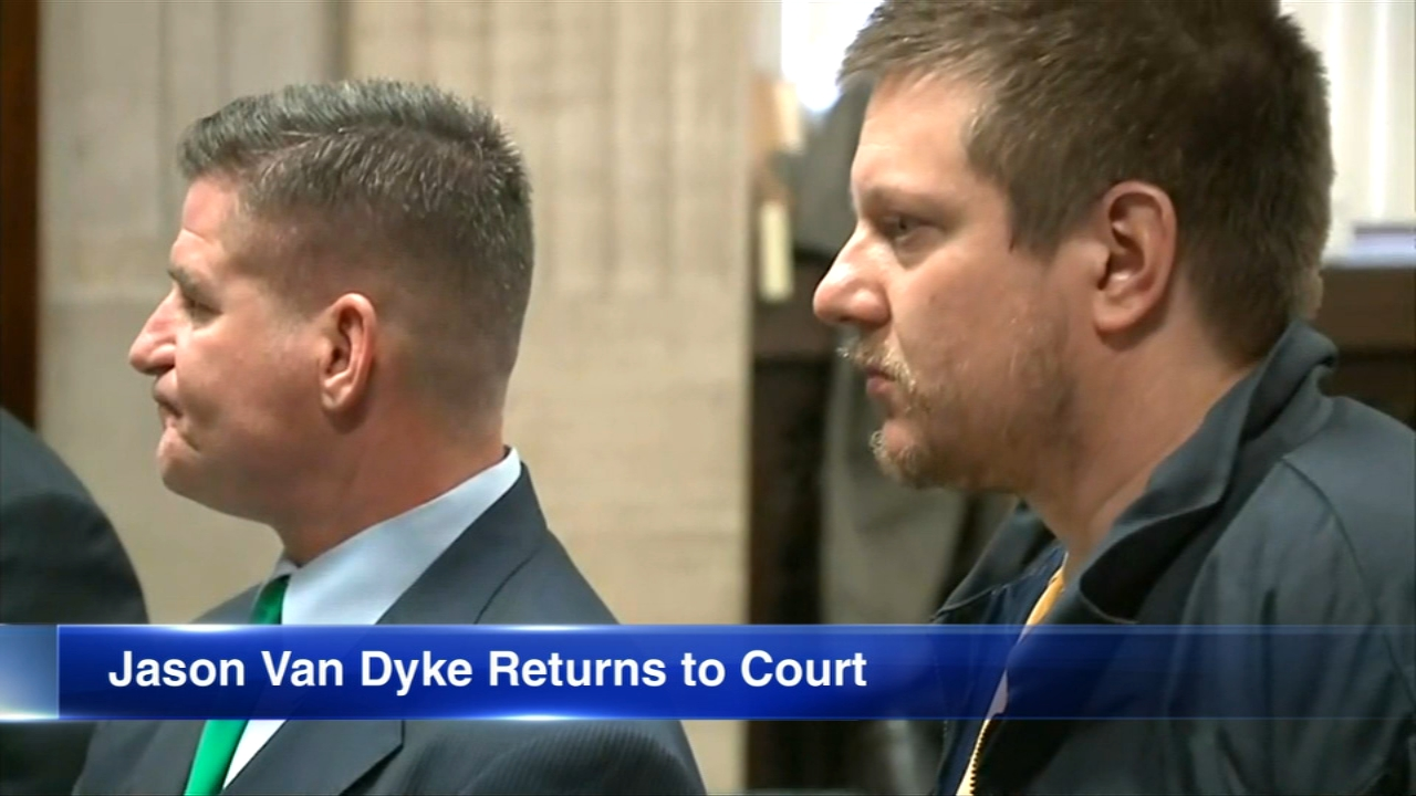 Former Chicago Police Officer Jason Van Dyke returned to court for the second time since his conviction in the shooting of Laquan McDonald.