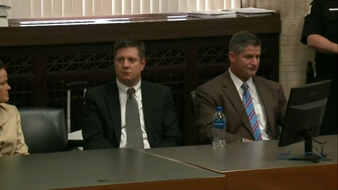Former Chicago police officer Jason Van Dyke is back in court Friday for the second time since being convicted in the death of Laquan McDonald.
